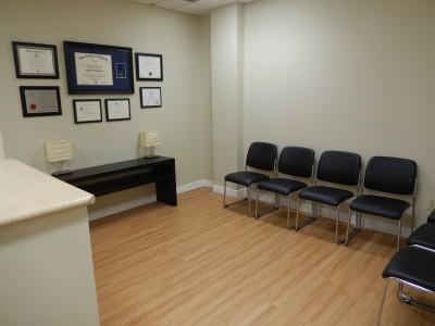 Markham Chiropractor Waiting Room