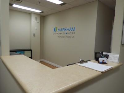 Markham Chiropractor Front Desk